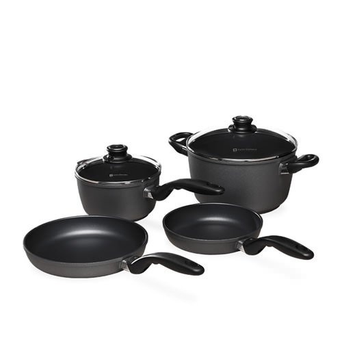 Kitchen Set For Sale: Swiss Diamond 6pc Cookware Set