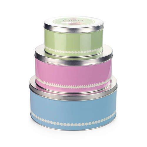 Tala 1960s Cake Tins Set of 3