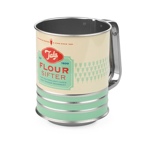 Tala Retro Flour Sifter with Caps