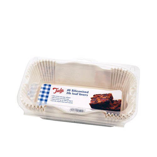 Tala Siliconised Loaf Liners 40pc