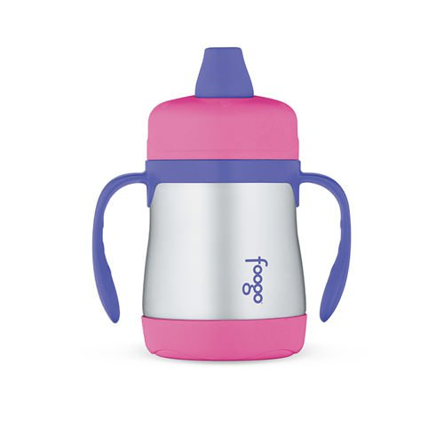 Thermos Foogo Stainless Steel Vacuum Insulated Sippy Cup Pink