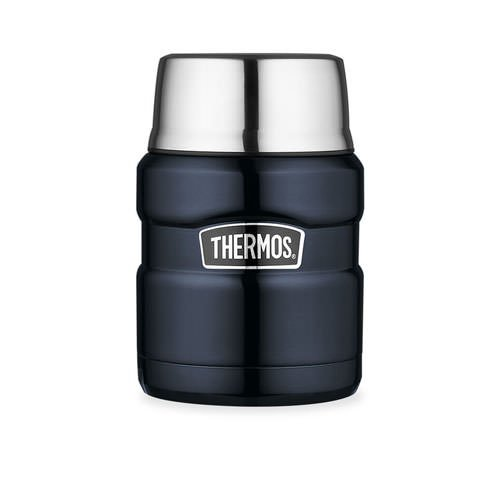 Thermos Stainless King Vacuum Insulated Food Jar Midnight Blue 470ml
