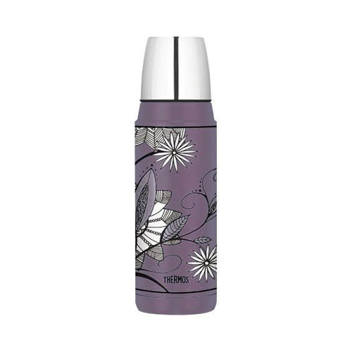 Thermos Stainless Steel Vacuum Insulated Flask 480ml Purple