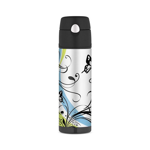 Thermos Stainless Steel Vacuum Insulated Hydration Bottle 530ml Butterfly