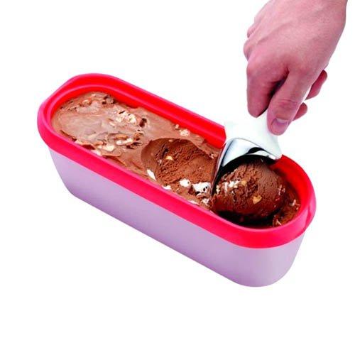 Tovolo Glide-A-Scoop Ice Cream Tub Strawberry
