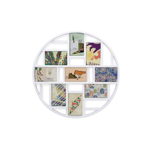 Umbra Luna Multi Photo Wall Display White