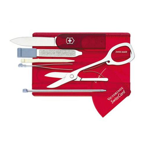 Victorinox Cyber Swiss Card Swiss Army Knife Ruby