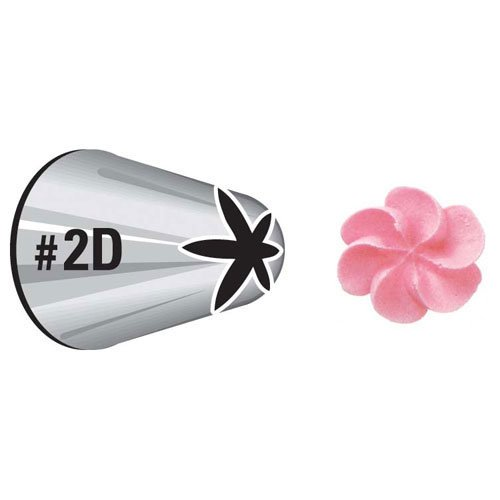 Wilton Cake Decorating Tip - Drop Flower 2004