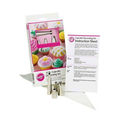 Wilton Cupcake Decorating Icing Tips Set 12pc
