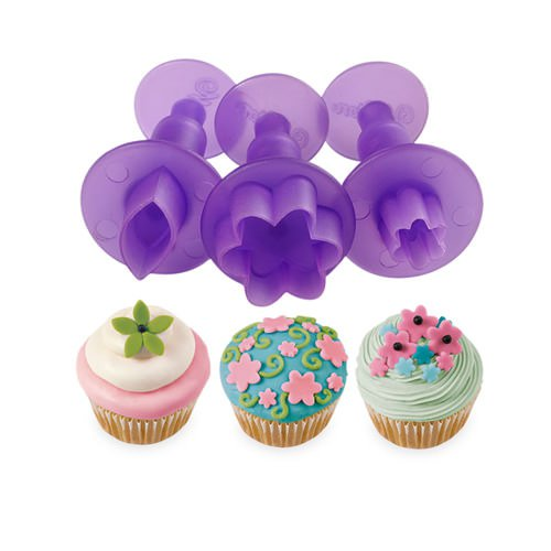 Wilton Flower & Leaf Mini Fondant Cut-Out Set
