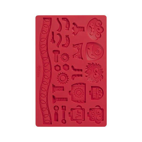 Fondant moulds and stamps