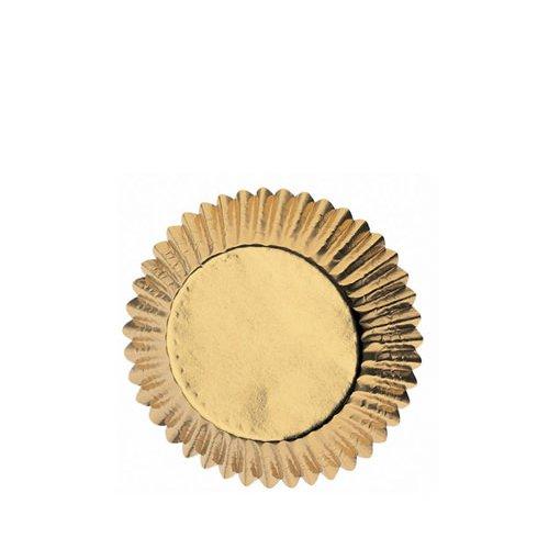 Wilton Gold Foil Mini Baking Cups 75pc