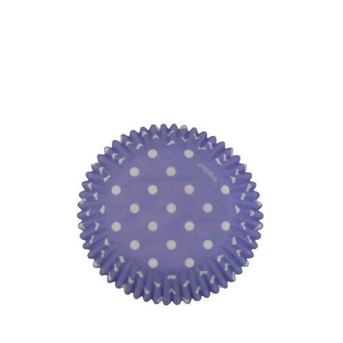 Wilton Polka Dot Baking Cups Purple 75pc