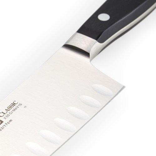 Wusthof Classic Granton Santoku Knife 17cm On Sale Now