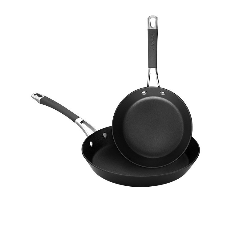 Anolon Endurance 2pc Open French Skillet Set 20cm & 26cm