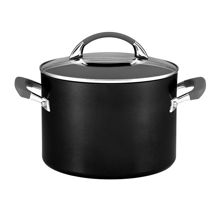 Anolon Endurance Stockpot 7.6L with Bonus Pasta Insert