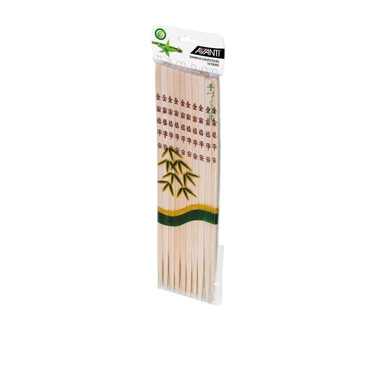 Avanti Bamboo Chopsticks 26.5cm 10pk
