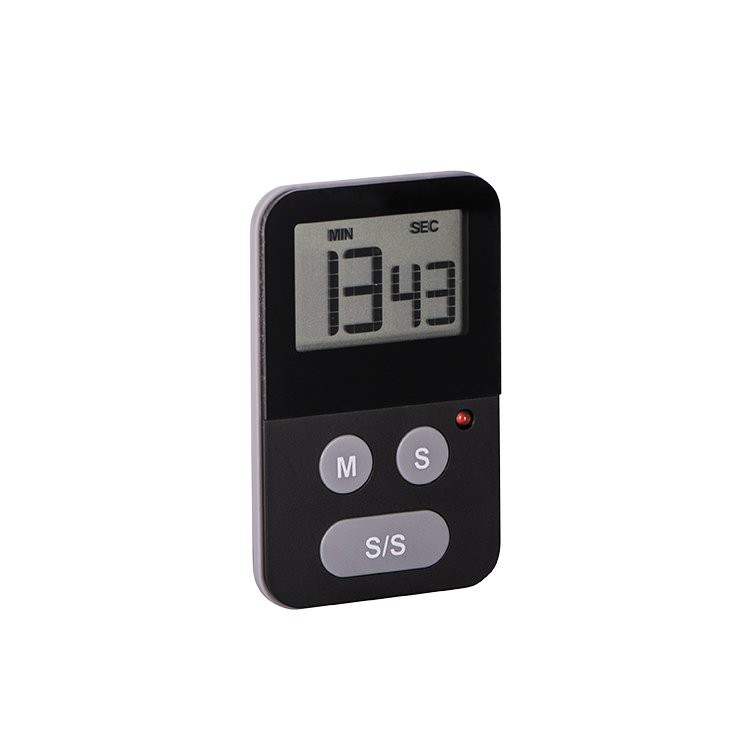 Avanti Digital Kitchen Timer with Light Black