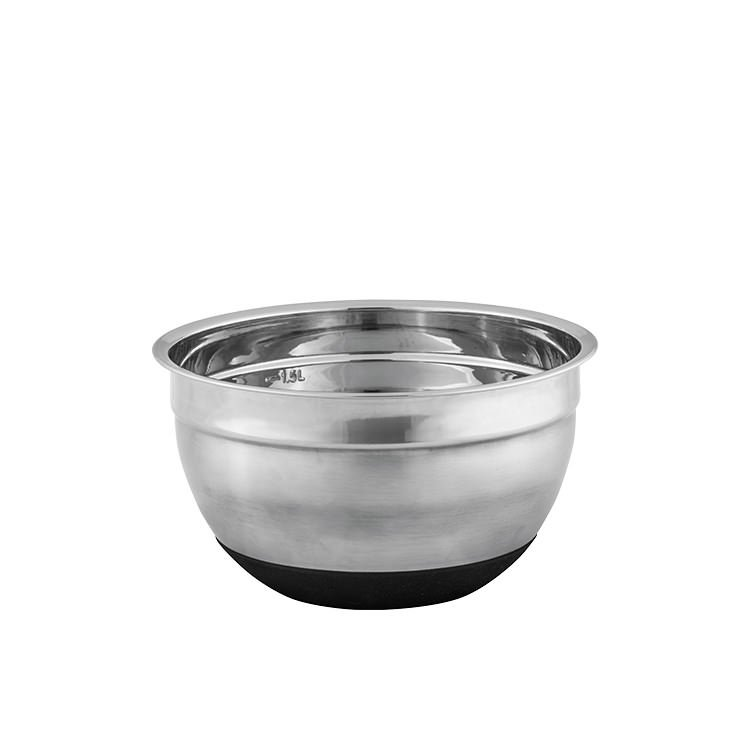 Avanti Stainless Steel Mixing Bowl w/ Silicone Bottom 18cm