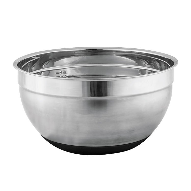 Avanti Stainless Steel Mixing Bowl w/ Silicone Bottom 26cm