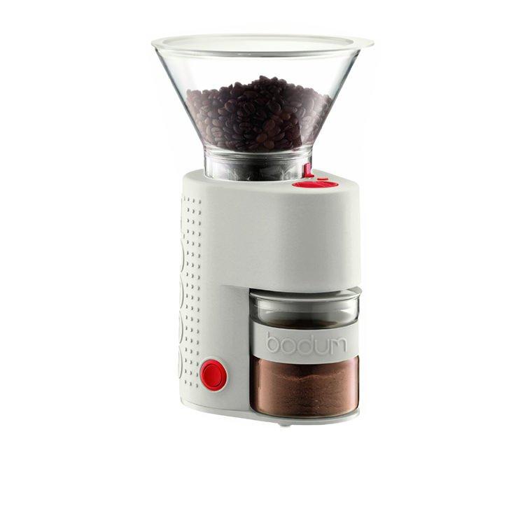 Bodum Bistro Burr Coffee Grinder Ivory