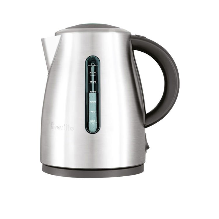 Breville The Soft Top Clear Kettle Stainless Steel
