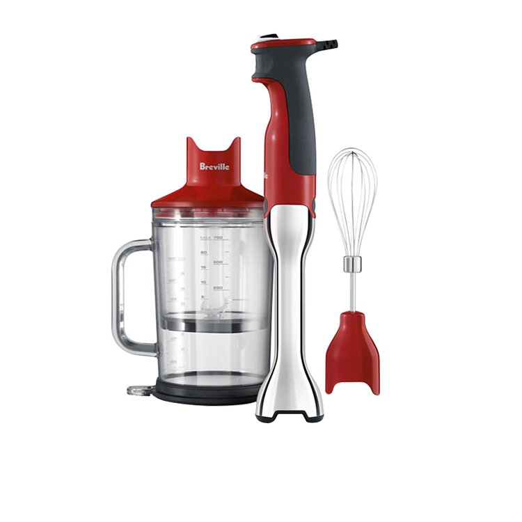 Breville the Control Grip Stick Blender Cranberry