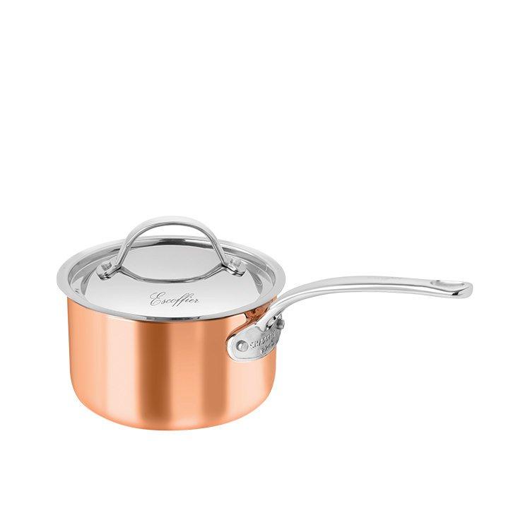Chasseur Escoffier Saucepan w/ Lid 1L