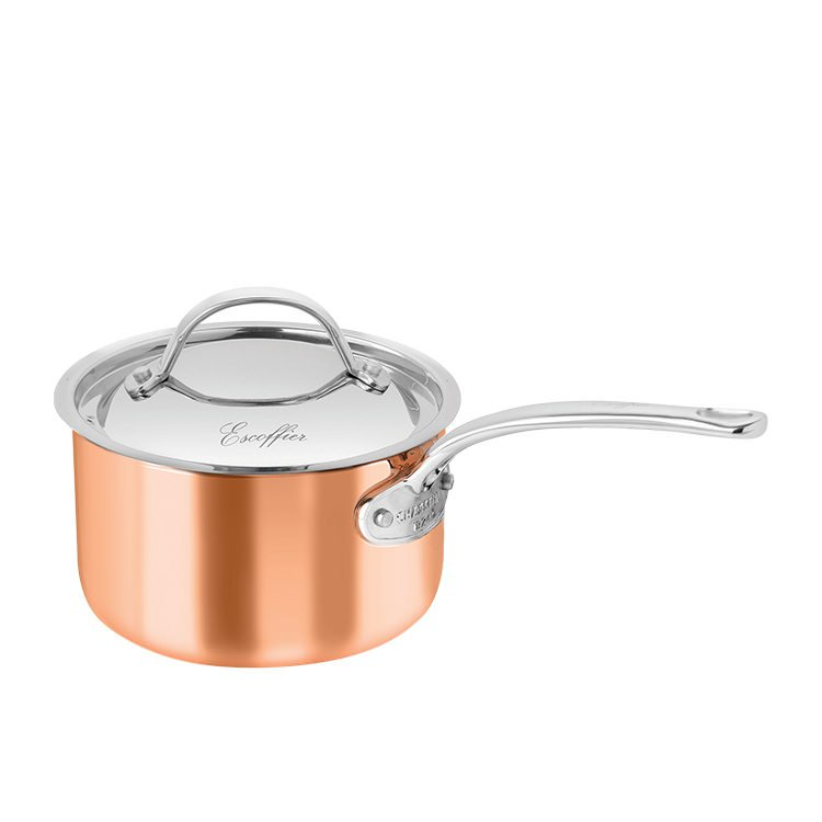 Chasseur Escoffier Saucepan w/ Lid 2.5L