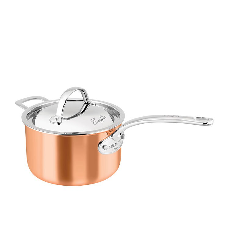 Chasseur Escoffier Saucepan w/ Lid and Helper Handle 3L