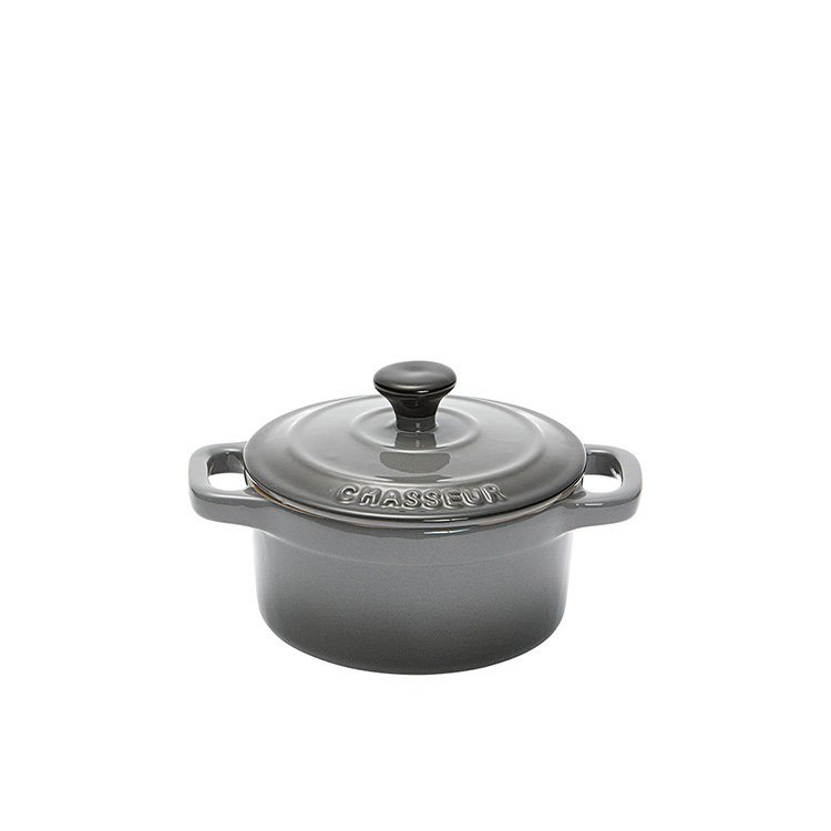 Chasseur La Cuisson Mini Cocotte Grey