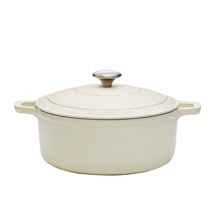 Chasseur Round French Oven 26cm - 5.2L Latte