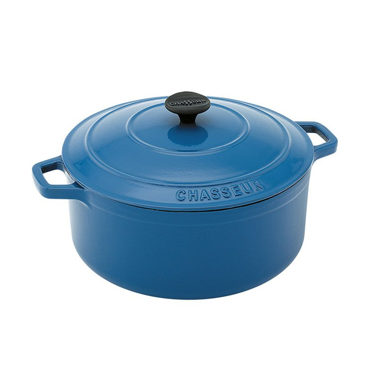 Chasseur Round French Oven 26cm - 5.2L Sky Blue