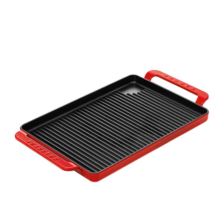 Chasseur Stove Top Grill 42x24cm Inferno Red