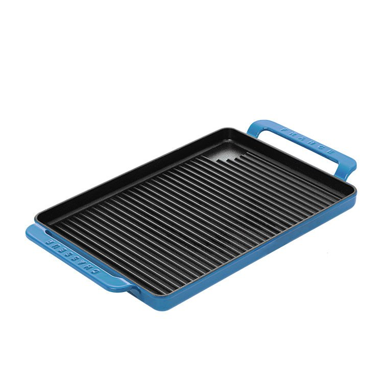 Chasseur Stove Top Grill 42x24cm Sky Blue Buy Now Save