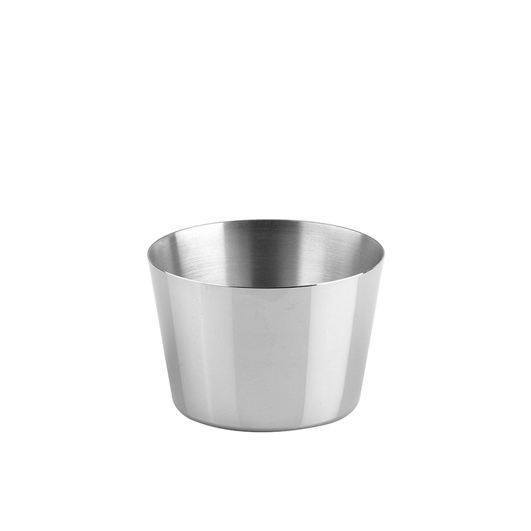 Chef Inox Pudding Mould S/S 7.5cm