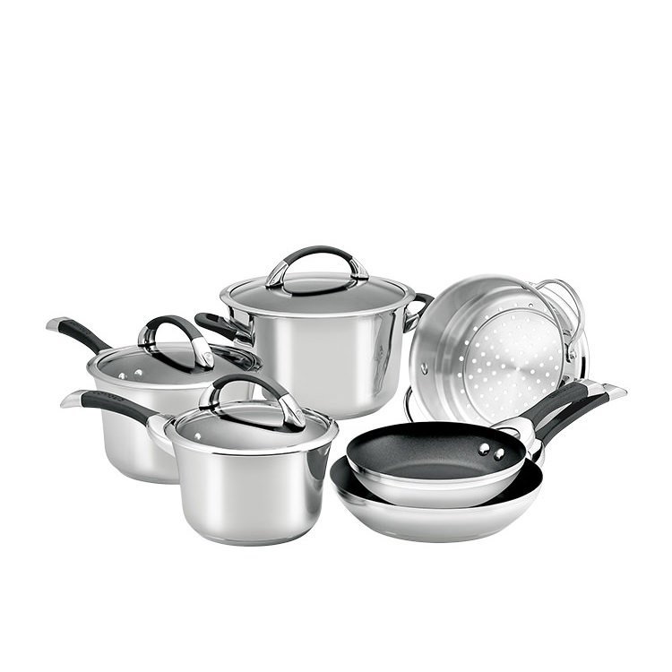 Circulon Symmetry S/S 6pc Cookware Set