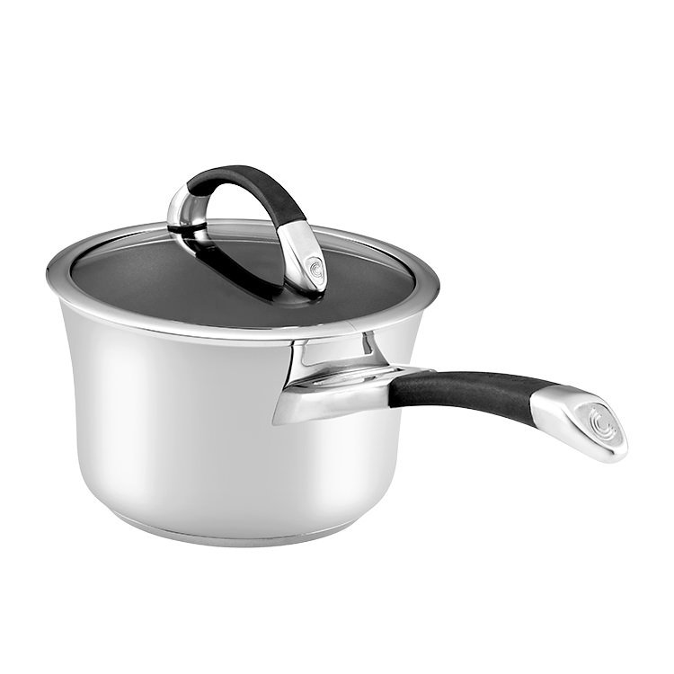 Circulon Symmetry Stainless Steel Saucepan 2.4L