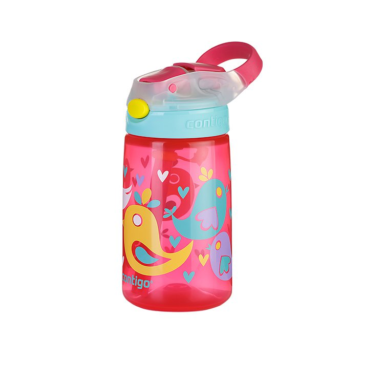 Contigo Gizmo Autospout Drink Bottle 420ml Birds