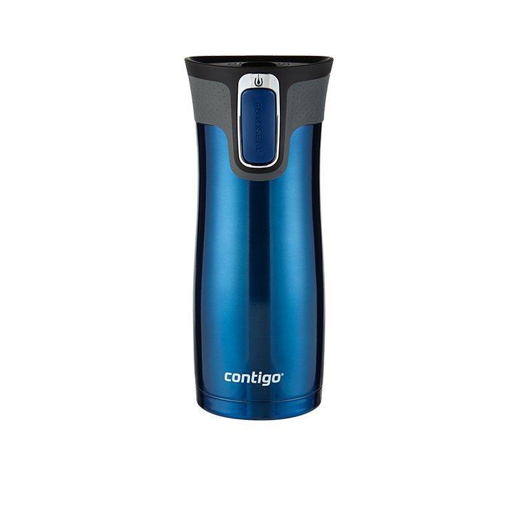 Contigo Westloop Autoseal Travel Mug 473ml Monaco Blue