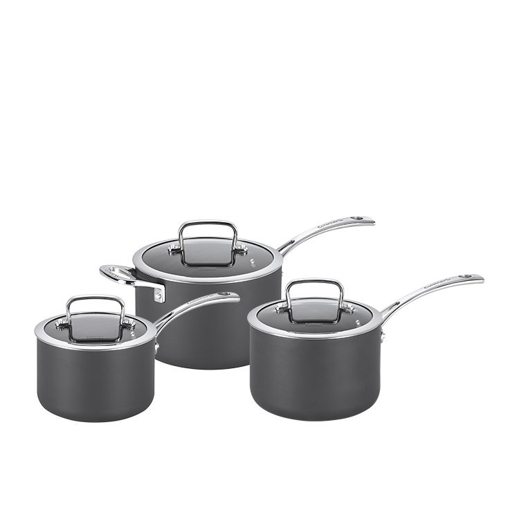 Cuisinart Chef iA+ 3pc Saucepan Set