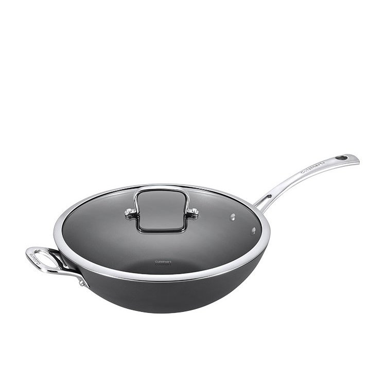 Cuisinart Chef iA+ Wok with Lid 32cm