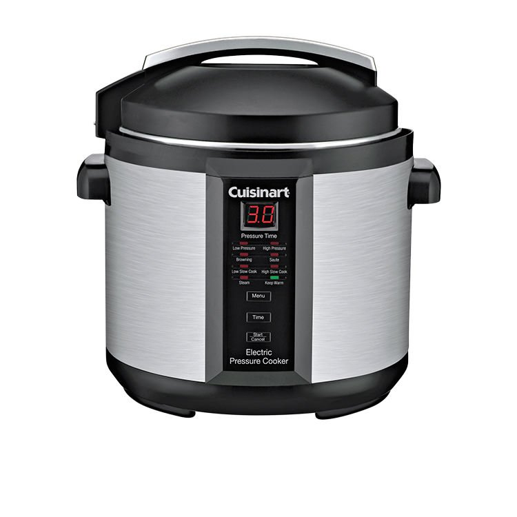 electric pressure cooker cuisinart electric pressure cooker plus 6l on now 13169