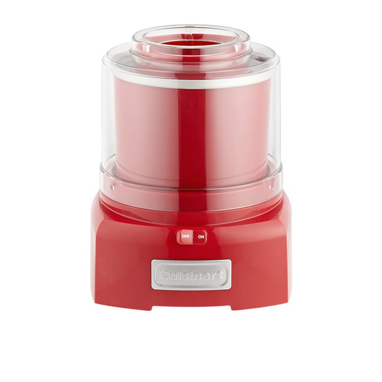 Cuisinart Ice Cream & Frozen Yoghurt Maker 1.5L Red