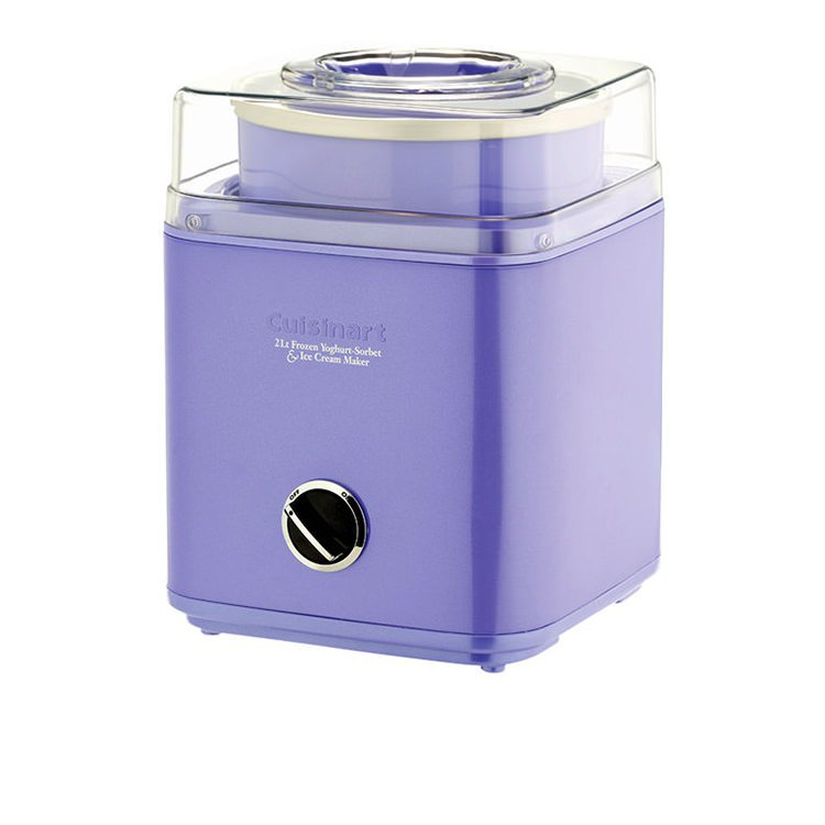 Cuisinart Ice Cream & Frozen Yoghurt Maker 2L Passion Flower
