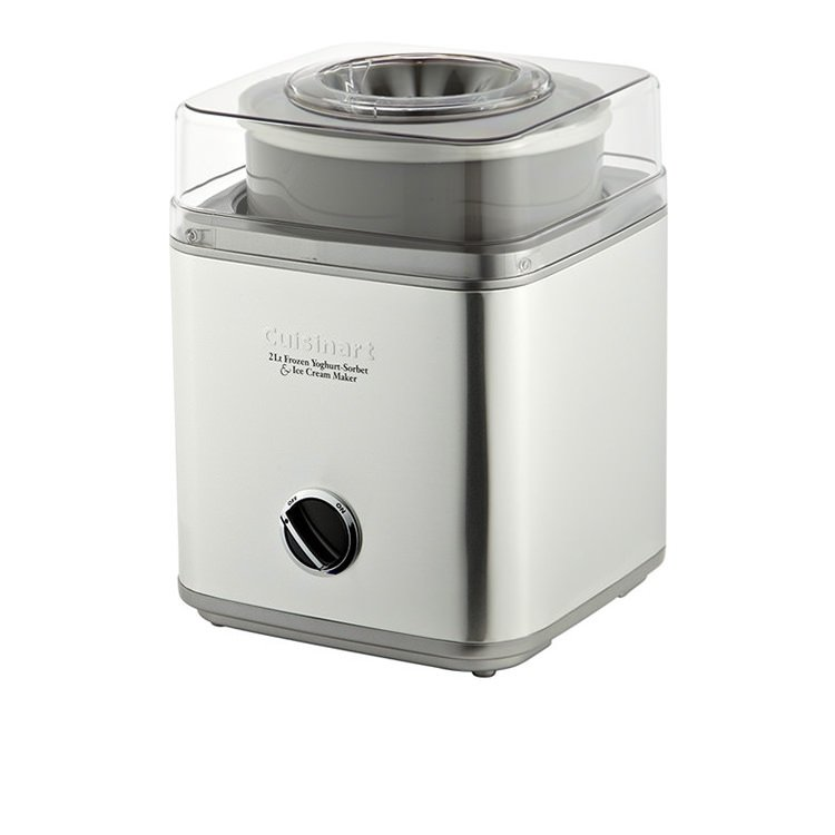 Cuisinart Ice Cream & Frozen Yoghurt Maker 2L Stainless Brushed