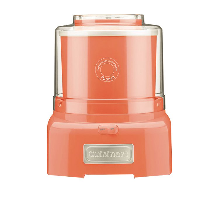 Cuisinart Ice Cream & Frozen Yoghurt Maker 1.5L Papaya