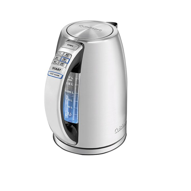 Cuisinart PerfecTemp Cordless Programmable Kettle 1.7L