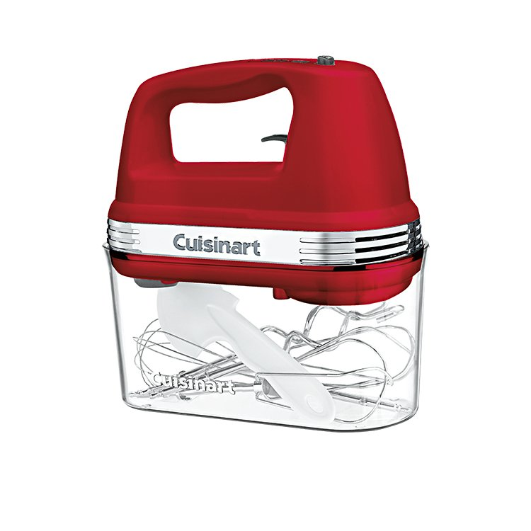Red Hand Mixer ~ Cuisinart power advantage plus hand mixer red on sale now