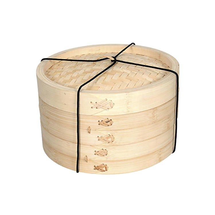 Davis & Waddell Bamboo Steamer 2 Tier 20cm